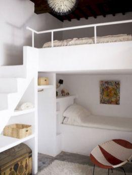 Cozy Bed Loft Ideas For Beloved Twin Kids 91