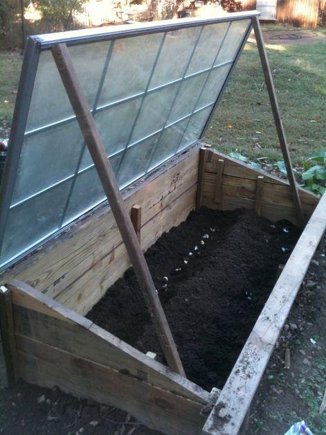 DIY Cold Frame Garden Box 2