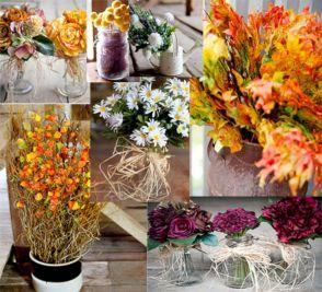 DIY Fall Wedding Decorations Ideas