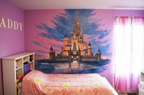 Disney Castle Wall Mural