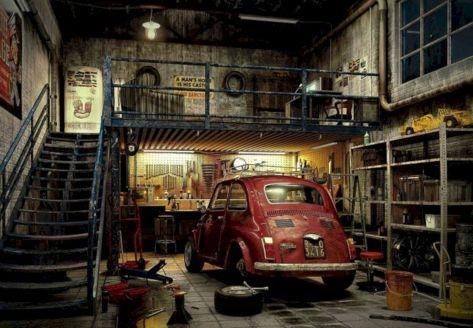 45 incredible underground parking garage design decoredo for Classic underground house