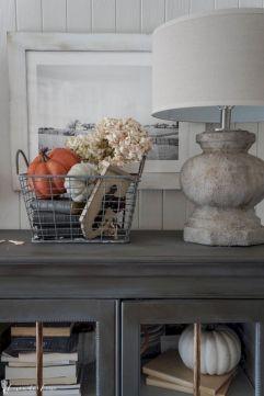 Entryway Table Decor Ideas for Fall 3