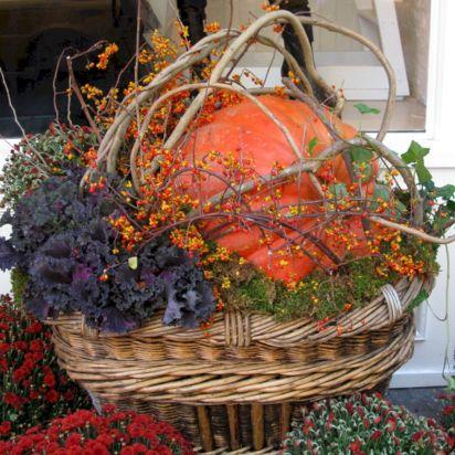 Fall Container Garden Idea Design
