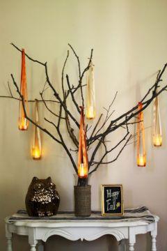Fall Tree Decorations DIY