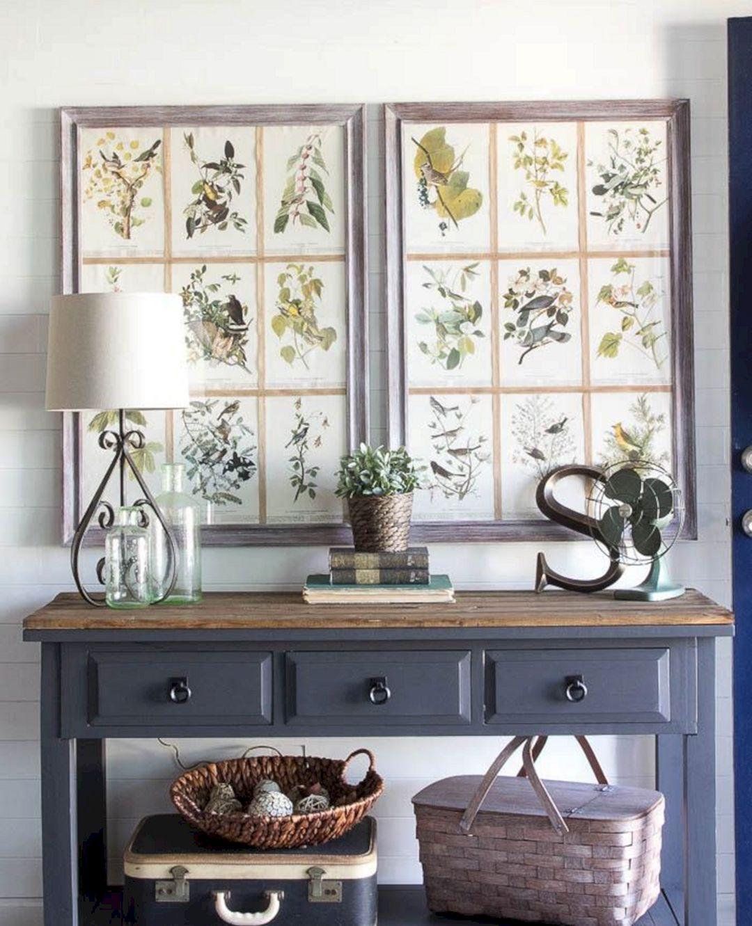 29 Small Foyer Decor Ideas For Tiny: Farmhouse Entryway Decor Ideas