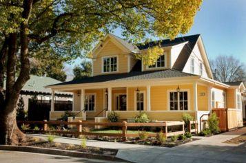 Farmhouse Exterior House Ideas