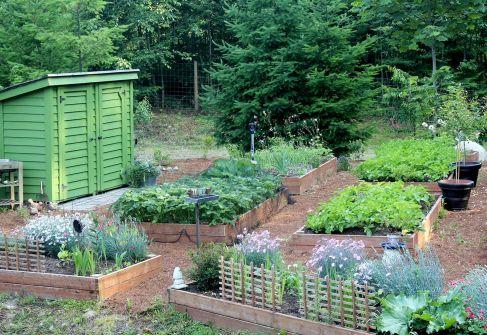 French Kitchens Garden Potager