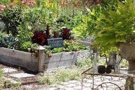 French Potager Vegetable Garden