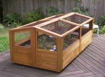 Garden Cold Frame Design 2