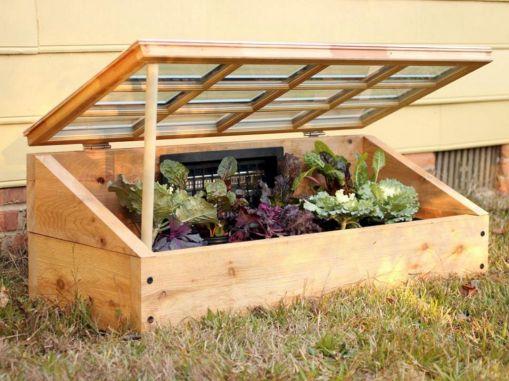 Garden Cold Frame Design 6