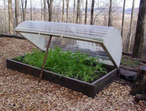 Garden Cold Frame Design 8