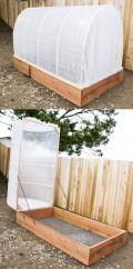 Greenhouse Raised Herb Gardens 2