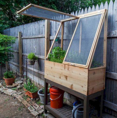 Greenhouse Raised Herb Gardens 4