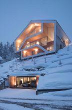 Houses with Underground Garage Designs