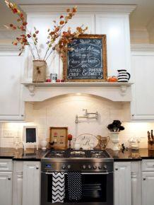 Kitchen Shelves Over Stove