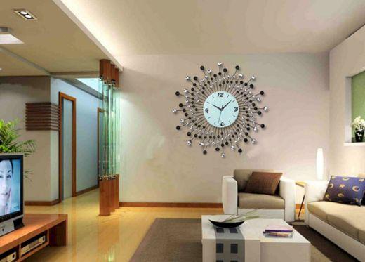 Large Decorative Wall Clocks Living Room