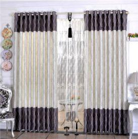 Living Room Curtain Design
