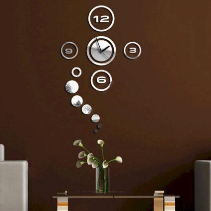 Living Room Wall Decor Clock