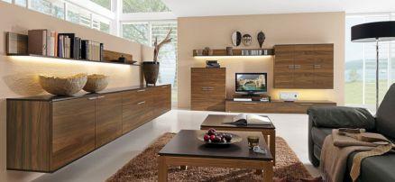 Modern Wood Living Room Furniture