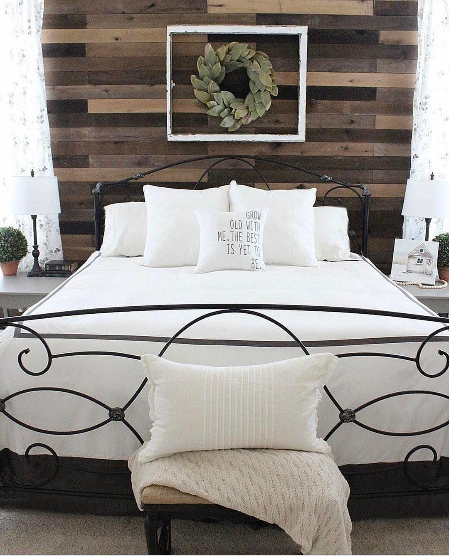 35 Stunning Magnolia Homes Bedroom Design Ideas For ... on Comfortable Bedroom Ideas  id=44528