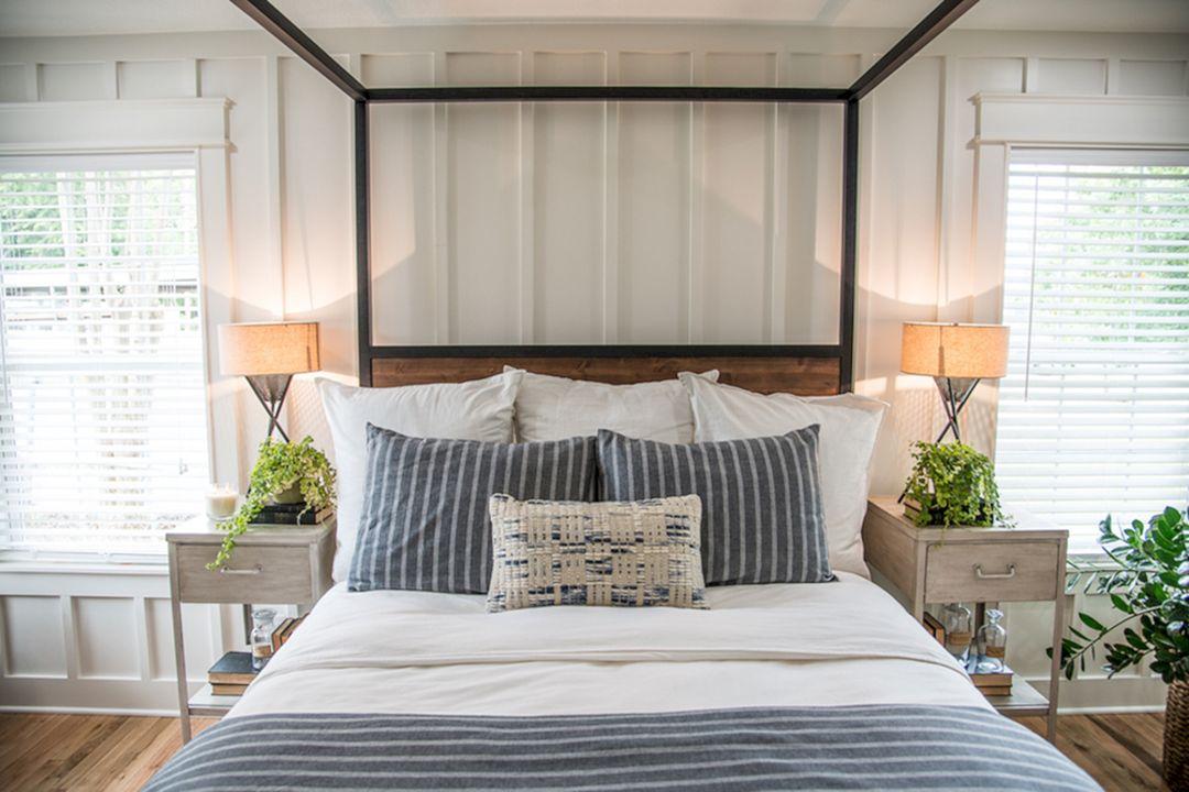 35 Stunning Magnolia Homes Bedroom Design Ideas For ... on Comfortable Bedroom Ideas  id=25351
