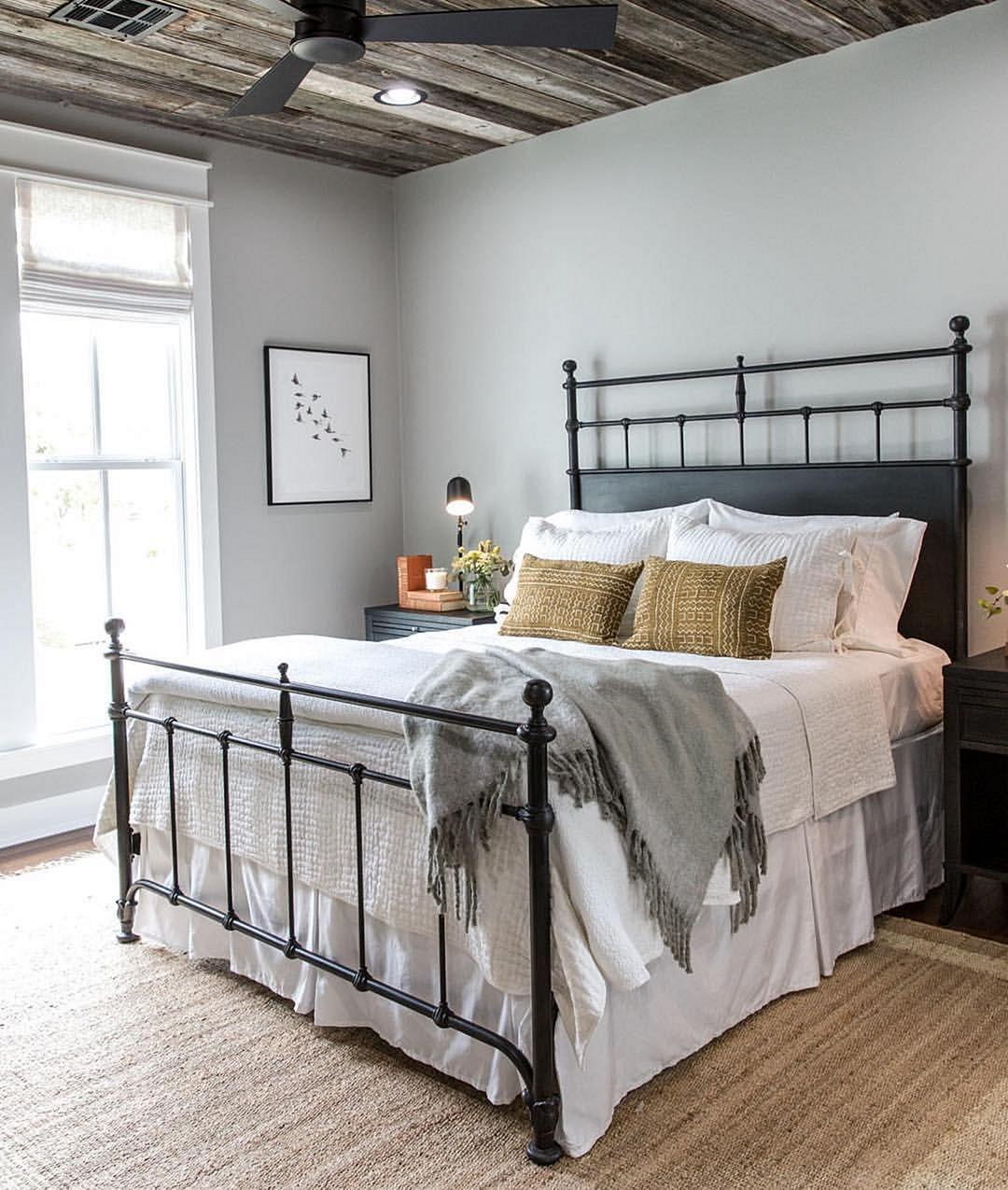 35 Stunning Magnolia Homes Bedroom Design Ideas For ... on Comfortable Bedroom Ideas  id=50833