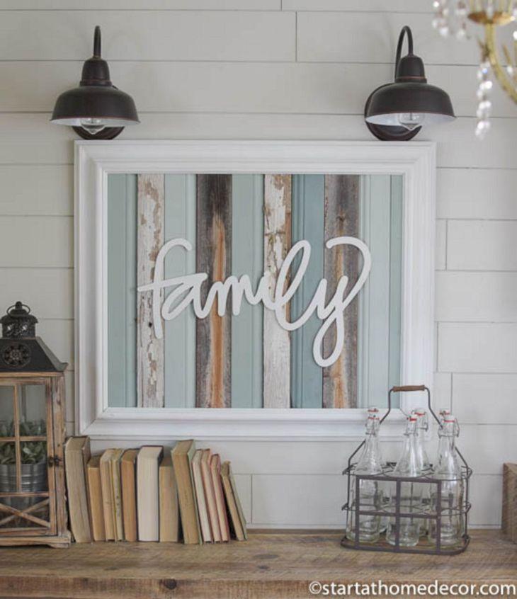 Farmhouse Living Room Decoration