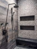 Amazing Rock Wall Bathroom You Need to Impersonate 23
