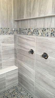 Amazing Rock Wall Bathroom You Need to Impersonate 36