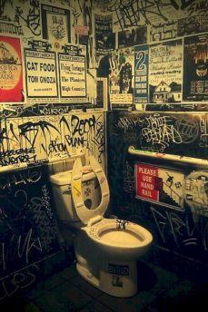 Amazing Rock Wall Bathroom You Need to Impersonate 4