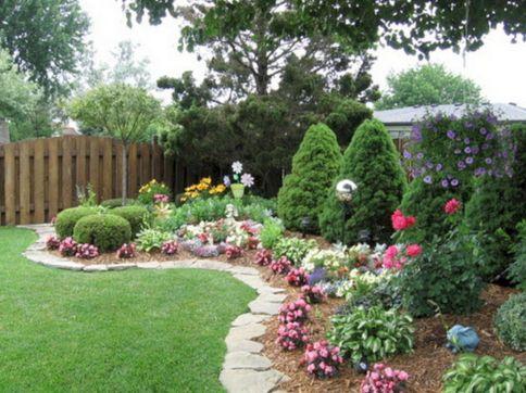 Back Yard Flower Garden Design Ideas