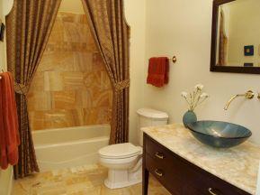 Bathroom Ideas with Shower Curtains