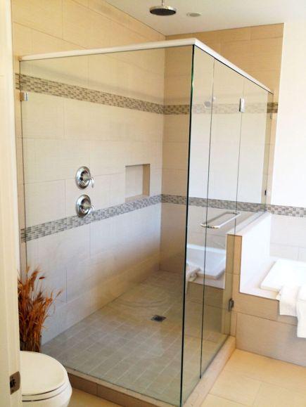 Bathroom Shower with Glass Ideas
