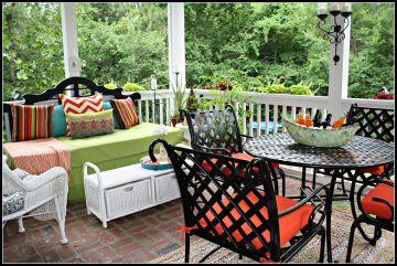 Beautiful Back Porch