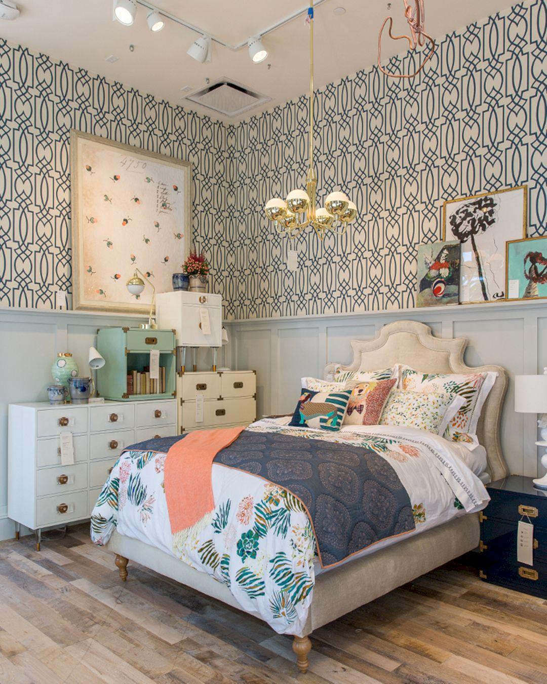 Great Beautiful Bedroom Wallpaper Decorating Ideas 11