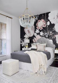 Beautiful Bedroom Wallpaper Decorating Ideas 42