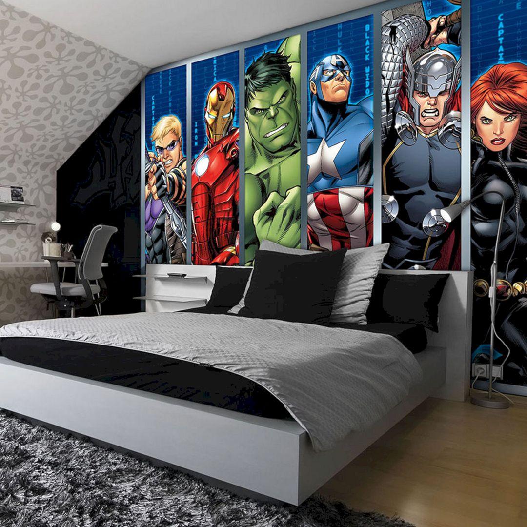 Beautiful Bedroom Wallpaper Decorating Ideas 48
