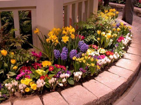 Bed Idea Flower Garden Design