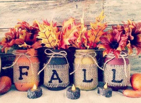 Best Fall Craft Decoration Ideas 32