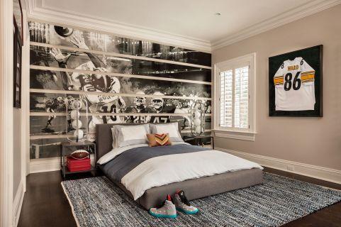Best Masculine Room Design Ideas 25