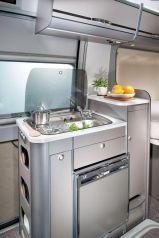 Compact Kitchen Camper Van