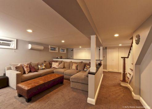 Contemporary Basement Design