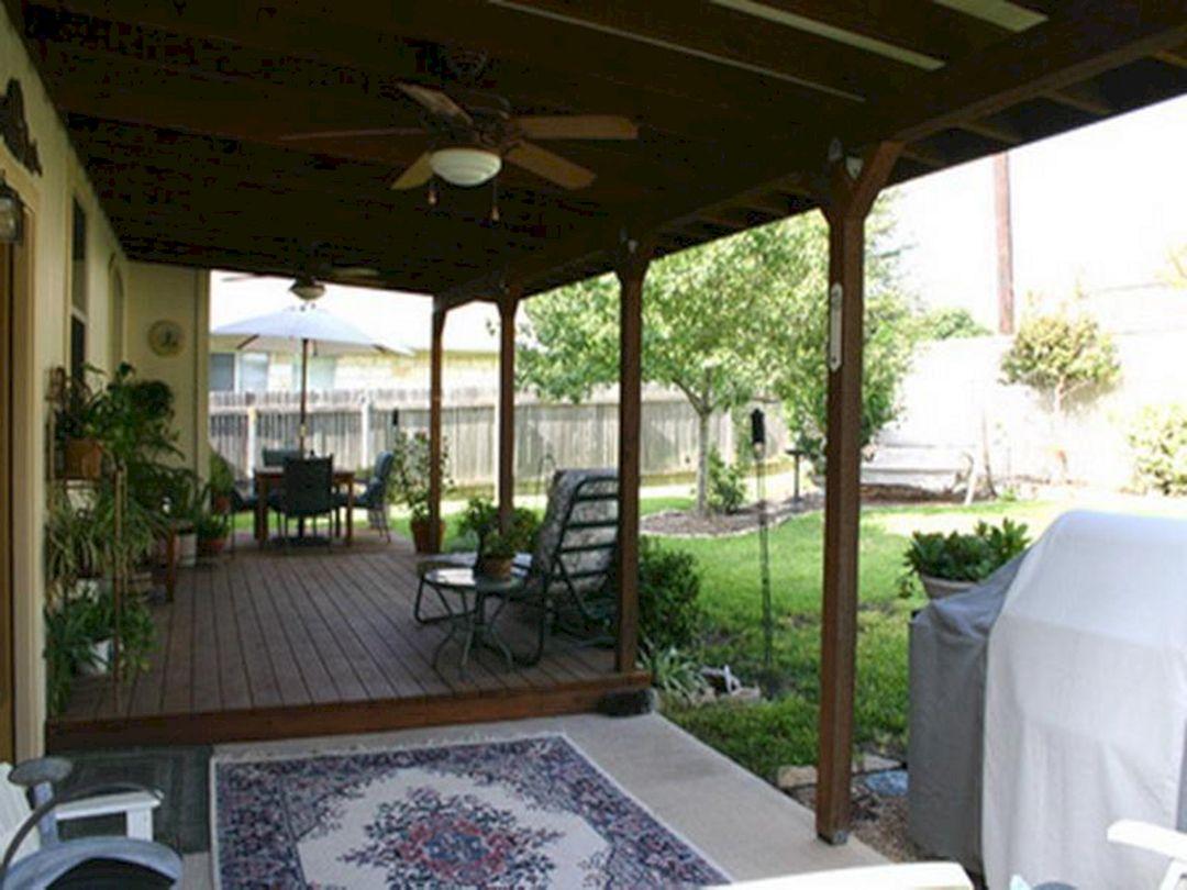 Covered Back Porch Patio Designs - DECOREDO on Back Patio Porch Ideas id=80508