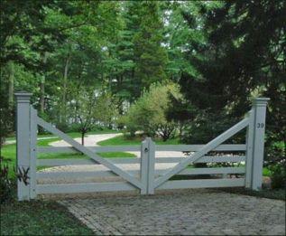 Farm Driveway Entrances Gate