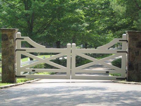 Farm Gate Entrance Ideas