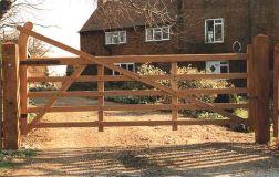 Farm Ranch Entrance Gates