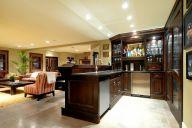 Home Basement Bar Design Idea