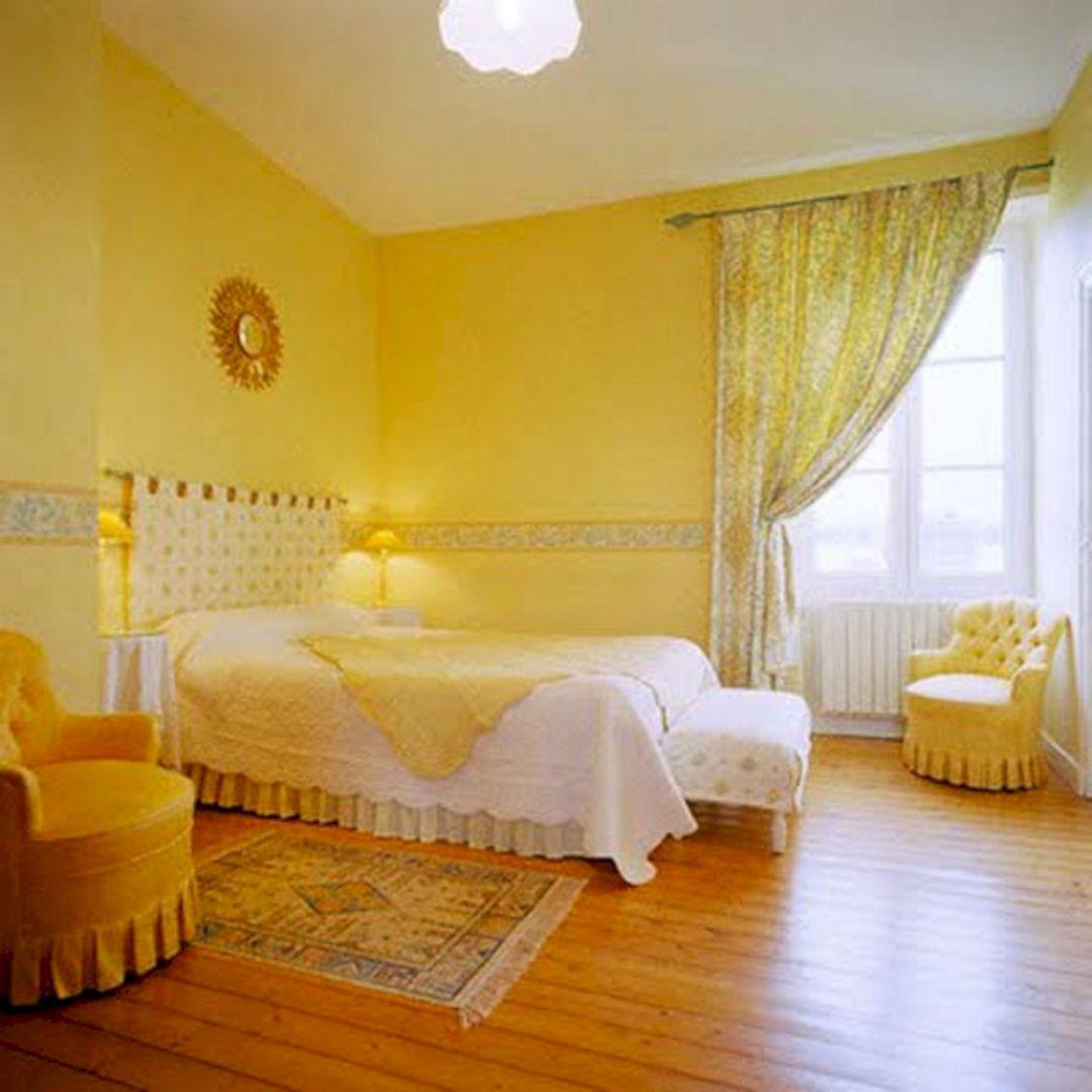 Incredible Yellow Aesthetic Bedroom Ideas Decoredo