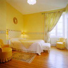 Incredible Yellow Aesthetic Bedroom Decorating Ideas 1