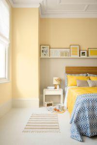 Incredible Yellow Aesthetic Bedroom Decorating Ideas 23
